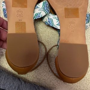 Tory Burch Shoes - Brand new Tory Burch Miller scarf sandal